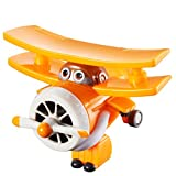 Super Wings- Mini Tramsform a Bots Grand Albert Transform EU710060-Transform-a-Bots, YW710060, Yellow