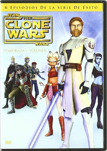 Star Wars: The Clone Wars Temporada 1 Volumen 3 [DVD]