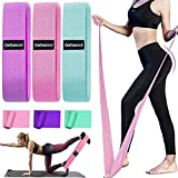 GaGasoul Fabric Resistance Bands, Workout Bands Resistance for Women Cloth Resistance Bands Non Slip Elastic Bands for Exercise Booty Bands for Yoga Home Workout Fitness 6-Pack