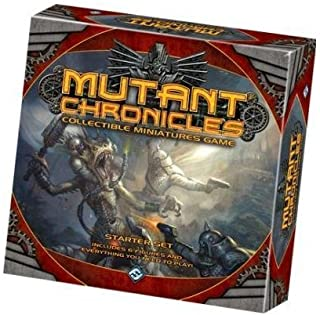 Fantasy Flight Games Mutant Chronicles Starter Set Collectible Miniature Game
