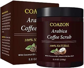 Corwar Exfoliantes de café Exfoliante corporal Facial Piel
