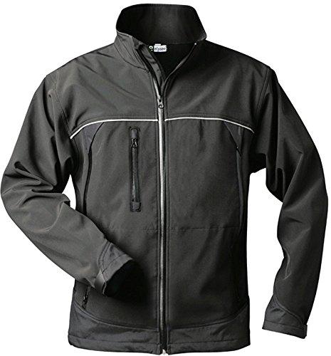 elysee Softshell-Jacke - schwarz - Größe: XL