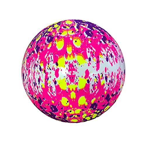 Yubenhong Wassermelonen Wasserballon, Pool-Spielzeug für Unterwasserspiele Wassermelone Aufblasbarer Ball, Fußball, Basketball und Rugby für Wasserspiele Kinder, J
