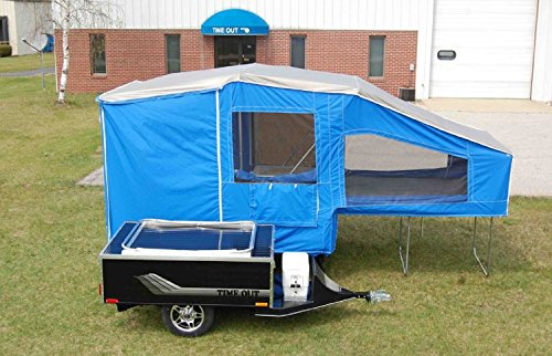 Time Out Camping Trailers (Pull Behind Motorcycle or Small Car) (Deluxe Camper)