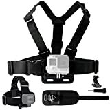CamKix Body Mount Bundle Compatible with Gopro...