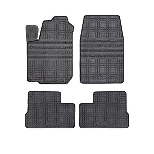 Motohobby Gummi Fußmatten für Mercedes M-Klasse W164 Auto Matten Autoteppiche
