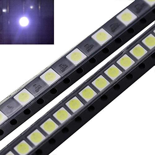 Akcesoria do pasków świetlnych 50 szt. 2 W 6 V 3535 zimna biel LED koraliki do telewizora LG naprawa aplikacja aktualizacja