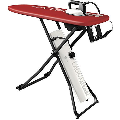 Laurastar Go Plus All-In-One Ironing System: Dry Microfine Hygienic Steam, Professional Iron with Active Board for Fast, Professional Results