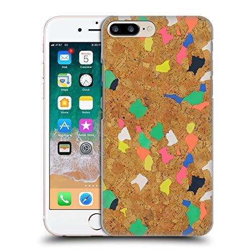 Head Case Designs Licenza Ufficiale Ninola Sughero Colorato Moderno 2 Cover Dura per Parte Posteriore Compatibile con Apple iPhone 7 Plus/iPhone 8 Plus