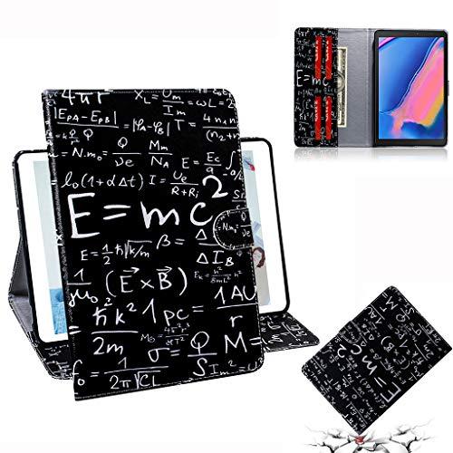 Careynoce Galaxy Tab Een 8.0 Hoes, Geschilderd Patroon PU Lederen Magnetische Boek Flip Portemonnee Tablet Case voor Samsung Galaxy Tab S4 SM-T290/T295/T297 8.0 inch 2019 met Auto Slaap/Wekfunctie, CH-07