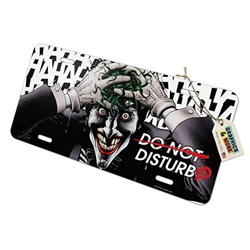 Graphics and More Batman Disturbed Joker Novelty Metal Vanity Tag License Plate