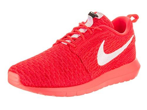 Nike Herren Men's Roshe Nm Flyknit Shoe Turnschuhe, Rot (Bright Crimson/White/University Red), 42 EU