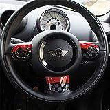 Tapa de pl/ástico ABS para Mini Cooper One S JCW R56 Hatchback R57 Covertible R58 Coupe R59 Roadster 2010-2016 HDX