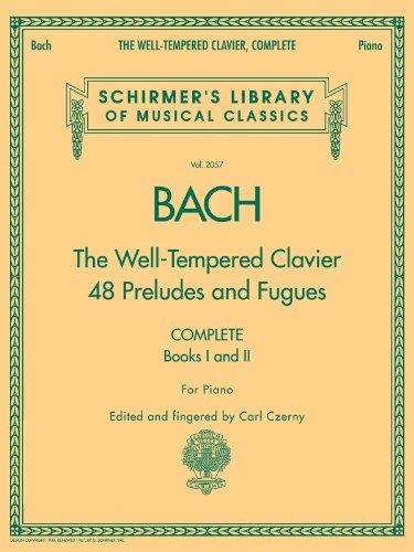 BACH - El Clave bien temperado (Completos) para Piano (Czern