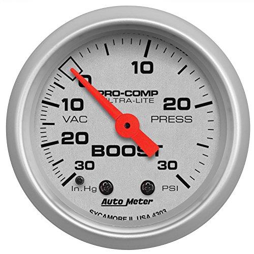 Auto Meter 4303 Ultra-Lite Mechanical Boost/Vacuum Gauge