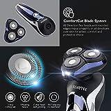 Zoom IMG-1 afeitadora electrica hombre 4d rotativa