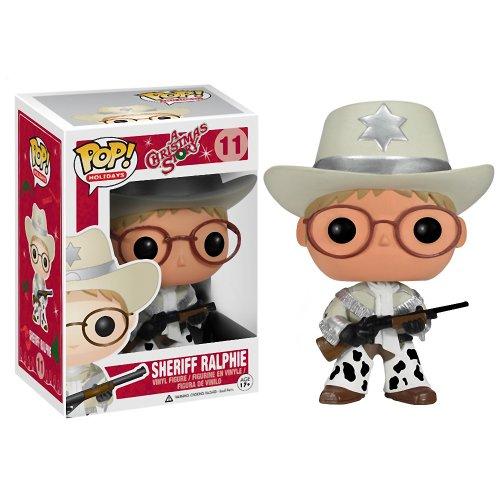 Sheriff Ralphie: ~4.3' Funko POP! x A Christmas Story Vinyl Figure