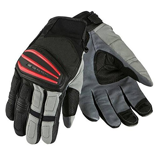 GLJJQMY Motorradhandschuhe Racing-Handschuhe Rally-Handschuhe Atmungsaktiv Warme Reithandschuhe, Rot Handschuh (Size : XL)