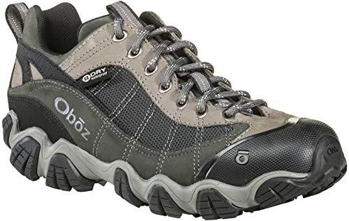 Oboz Firebrand II B-Dry Hiking Shoe - Men's Gray 11.5