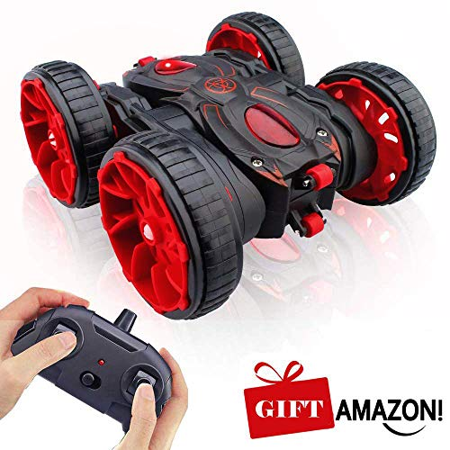 MaxTronic Toy Gift for 3-8 Years Old Kids - 360° Flip Remote Control Stunt...