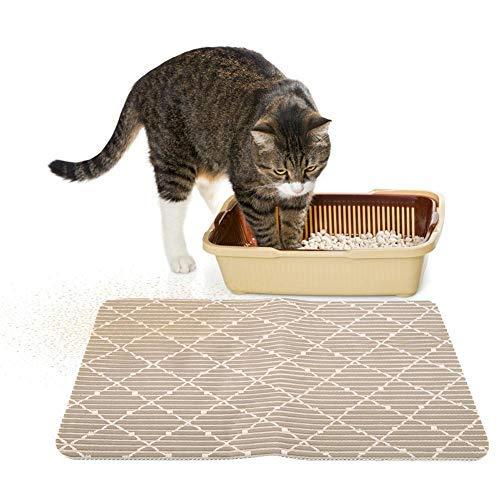 HEEPDD kat nestmat, premium pvc hond kat huisdier nest pad waterdichte Traps nest uit doos en katten scatter controle 17.7
