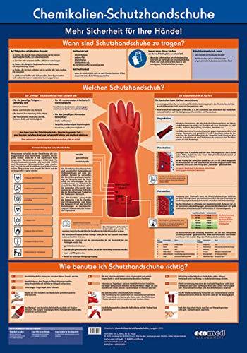 Wandtafel Chemikalien-Schutzhandschuhe