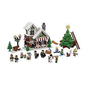 Amazon.co.jp - レゴ クリエイターエキスパート 冬のおもちゃ屋さん 10249
