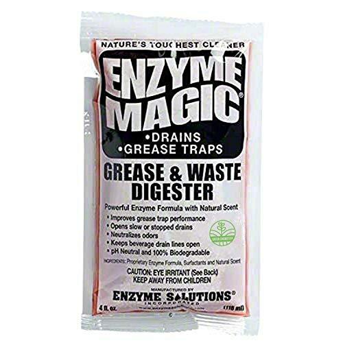 Enzyme Magic Grease & Waste Digester Cleans Slow/Clogged Drains,...