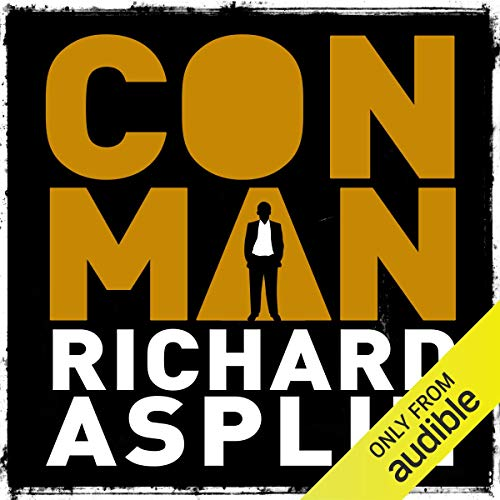 Conman audiobook cover art