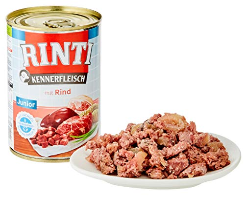 RINTI Kennerfleisch Junior Rind, 12 x 400g