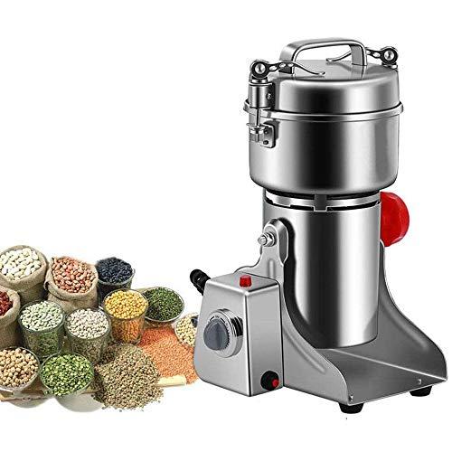 molino de cereales Eléctrica de molino de granos de Spice Grinder pulverizador Súper fino polvo de la máquina for Spice Hierbas granos de café Arroz Maíz Sésamo Soja Pescado Pimienta RSS Medicina