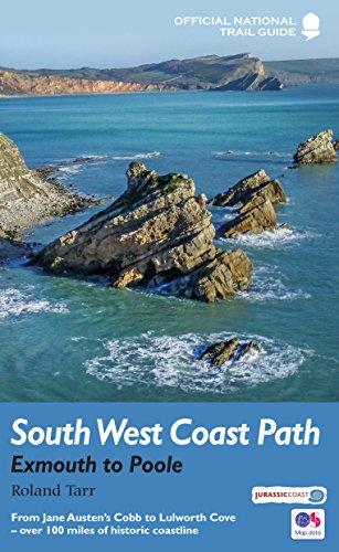 Tarr, R: South West Coast Path: Exmouth to Poole: National Trail Guide (National Trail Guides)