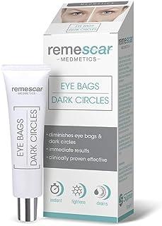 Remescar - Remescar Bolsas y ojeras - Crema para las bolsas de los ojos - Corrector de ojeras - Elimina las bolsas - Trata...