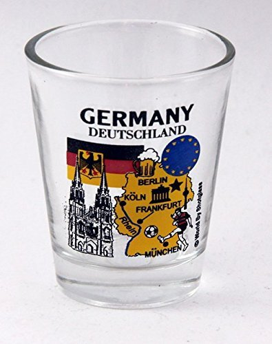 Germany EU Series Landmarks and Icons Shot Glass