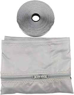 Goofly Window Seal Kit for Portable Air Conditioning Universal Sealing Zip Hose Vent (Grey)