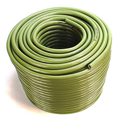 Worth Garden Manguera de jardín de 100 m Manguera de Agua Universal, Resistente a los Rayos UV, 13 mm, 1/2 Pulgada,