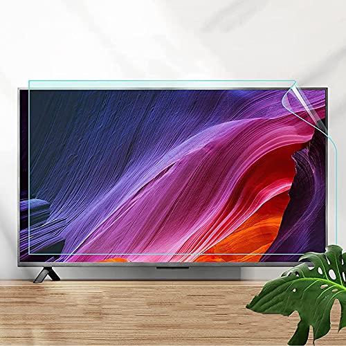 LKJHG 50-75 Pulgadas TV Matte Anti Glare Film, Anti-Reflexión/Protección De Radiación/Anti-Myopía, Adecuado para Shart, Sony, Pantalla Curvada, Samsung,60in 1338 * 756mm