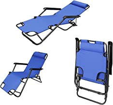 Foldable Beach Chair 153x60x35 [BCI-3655Blue]