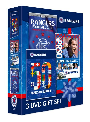 Rangers 3 DVD Gift Set (Prso, Interactive, 50 Years in Europe)