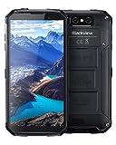 Téléphone Portable Incassable,Blackview BV9500 Plus,Smartphone Débloqué 4G Antichoc Étanche Resistant,10000mAh Batterie,Charge Sans Fil,16MP+13MP,64Go ROM,Écran FHD+5.7 Pouces,NFC/GPS/IP68/IP69K-Noir
