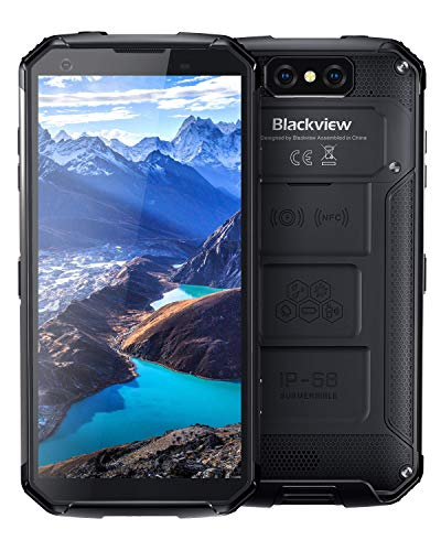 Blackview BV9500 Plus Outdoor Smartphone Ohne Vertrag mit 10000mAh Batterie, P70 Octa-Core, 4GB RAM+64GB ROM - 5.7 Zoll FHD+ Display, 16MP+13MP Dual Kameras Dual-SIM Android 9.0 Handy - Global Version