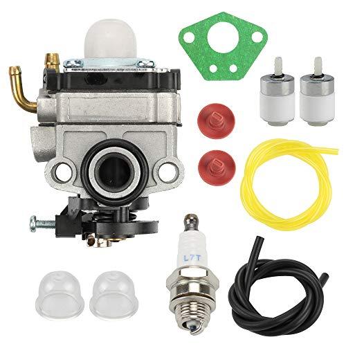 Wellsking 753-1225 Carburetor for MTD Bolens Craftsman Cub Cadet Troy-Bilt WYL-229 753-05251 TB415CS TB425CS TB465SS TB475SS TB490BC Ryobi 650r 825r 825RA Yard Man YM21SS YM26SS Gas Trimmer
