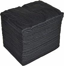 Toallas Desechables Spun-Lace 40*80 cm, 100 Unds, Peluqueria / Estetica, Color Negro