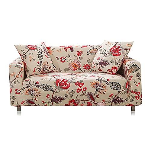 Funda elástica para sofá, Toalla de algodón, Fundas para sofá para Sala de Estar, Funda para sofá, Proteger Muebles A24, 2 plazas