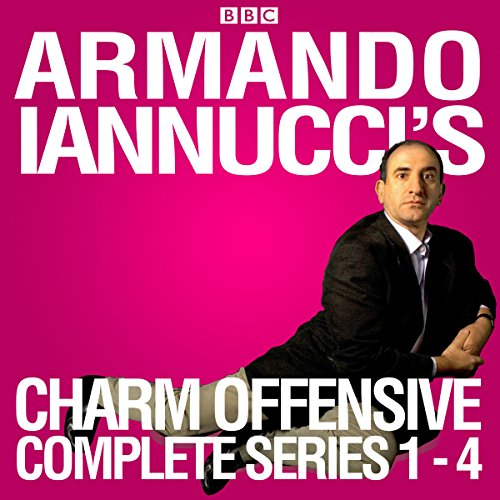 Armando Iannucci's Charm Offensive: Series 1-4 audiobook cover art