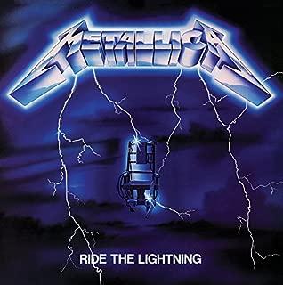 Metallica Framed Canvas Print Ride The Lightning 40 x 40 cm Pyramid Posters