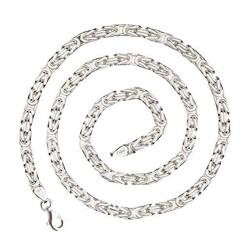 925 Silberkette: Königskette Silber 6mm und 60cm - KK-60-60