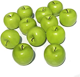 wooden green apples