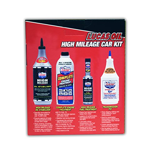 Lucas Oil High Mileage Car Kit