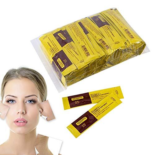 Rotekt 100Pcs / Set Professionnel Anti-Cicatrice Maquillage Tattoo After Repair Réparation Cicatrisante Vitamine Crème